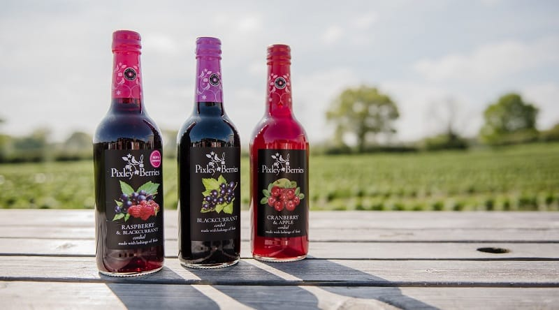 Pixley Berries Cordials