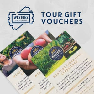 Westons Cider Gift Vouchers