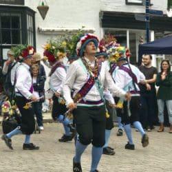 Morris Dancers at Bromyard Folk Festival