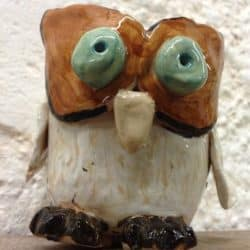 Eastnor Pottery Twit Twoo