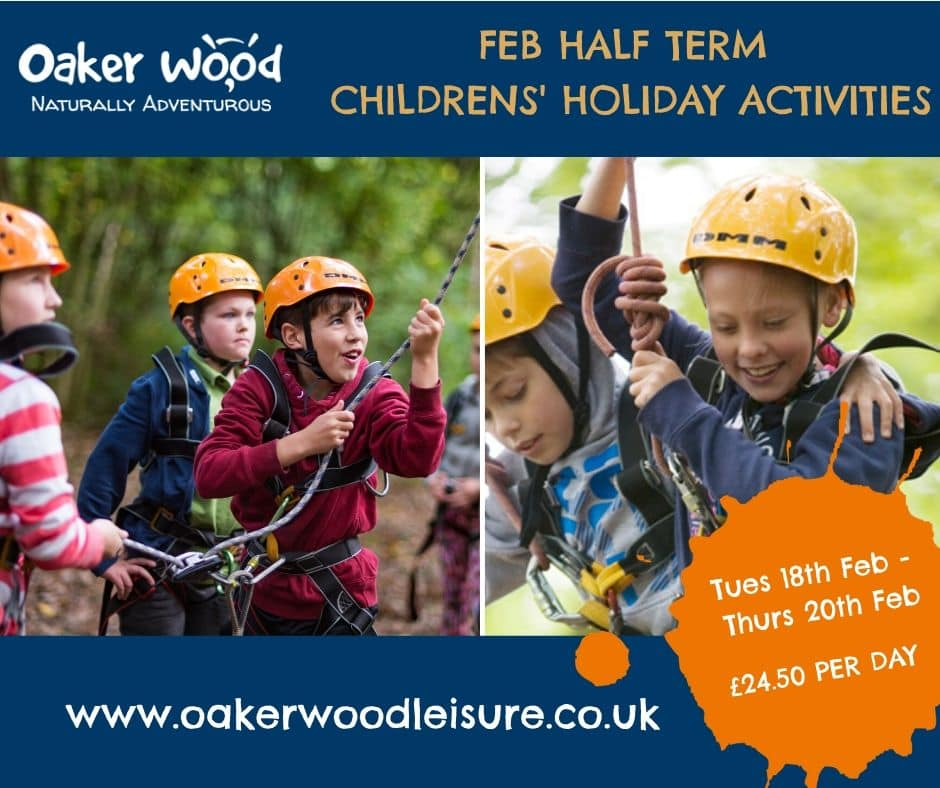 Oakerwood Half Term Activities