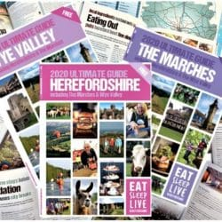 2020 herefordshire guide books