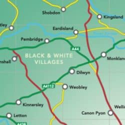 which are Herefordshires black and white villages