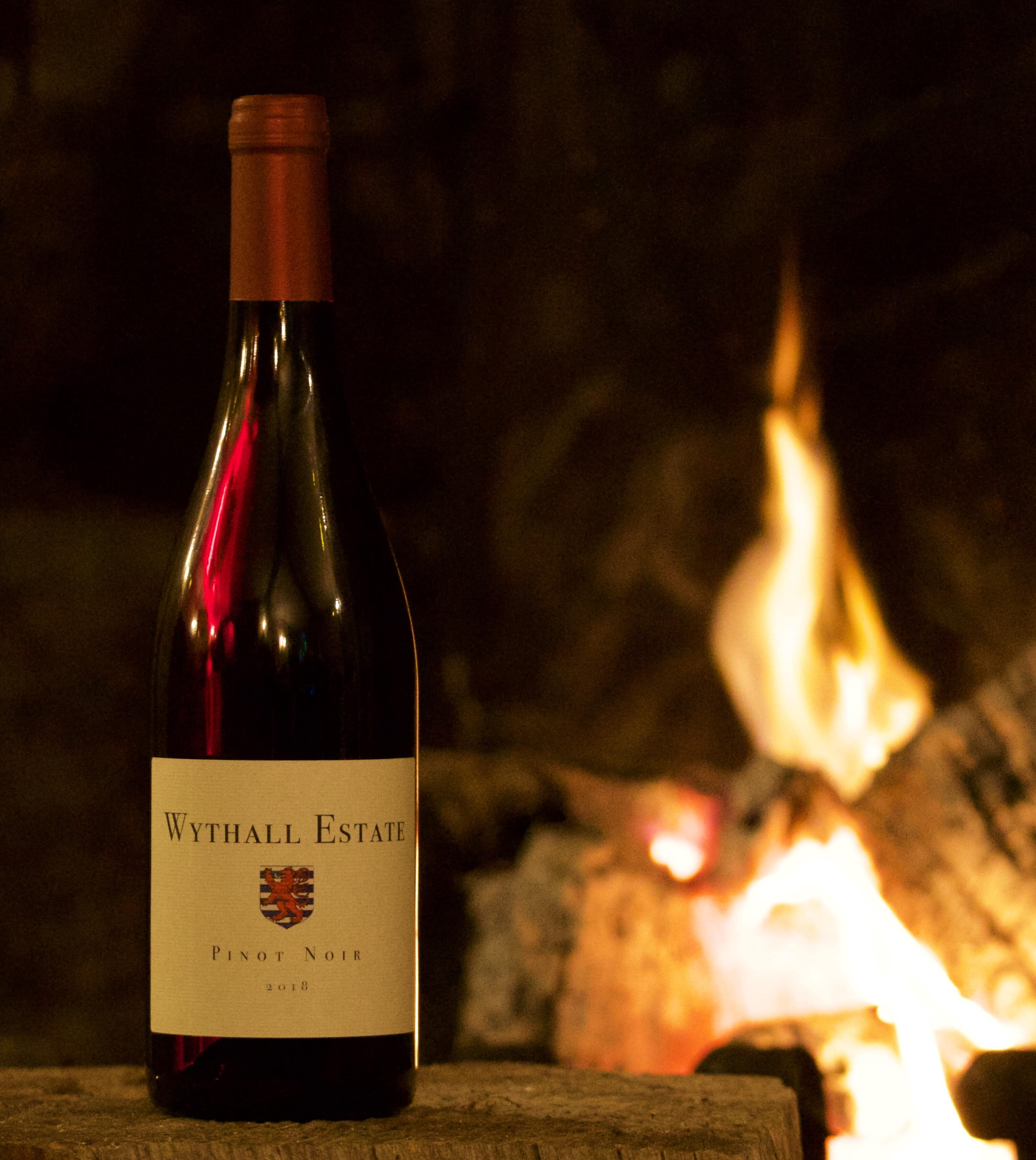 Wythall Estate Wine by fire