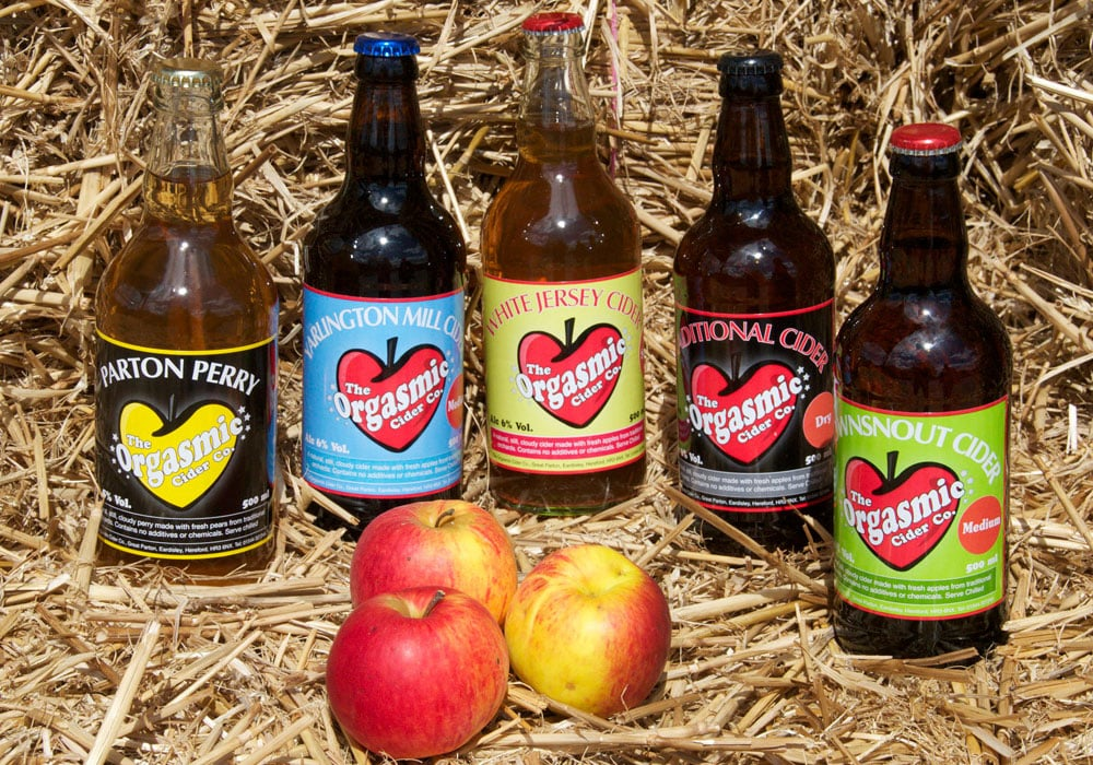 Orgasmic Cider and Perry Range