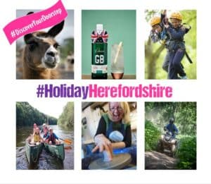 Holiday in Herefordshire