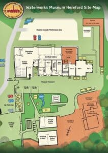 The Waterworks Museum site map