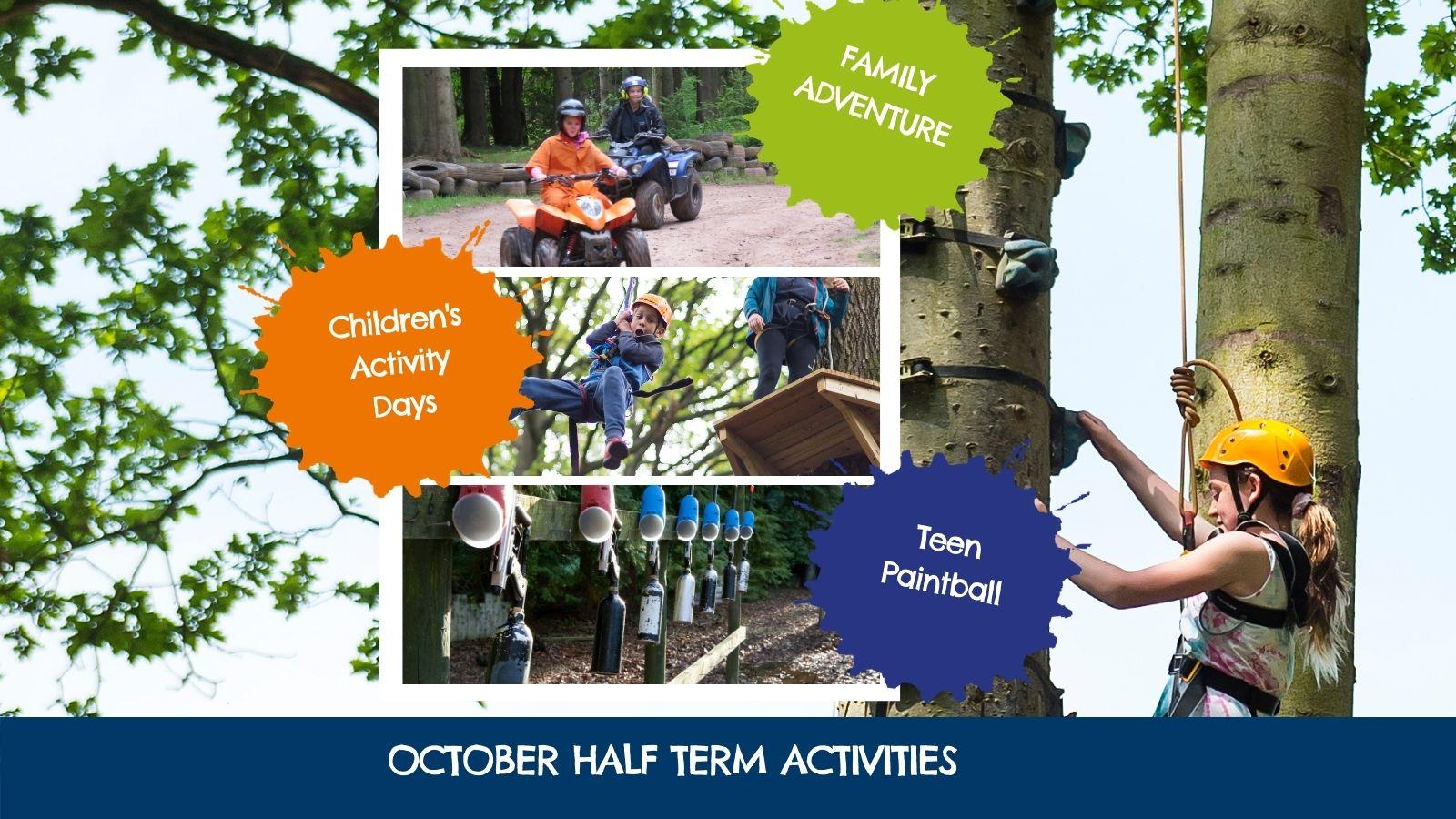 Oaker Wood Half Term Activities