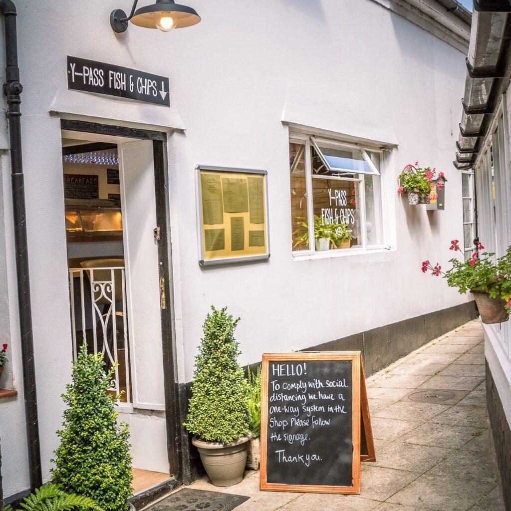 Y Pass Fish & Chip Shop Ledbury
