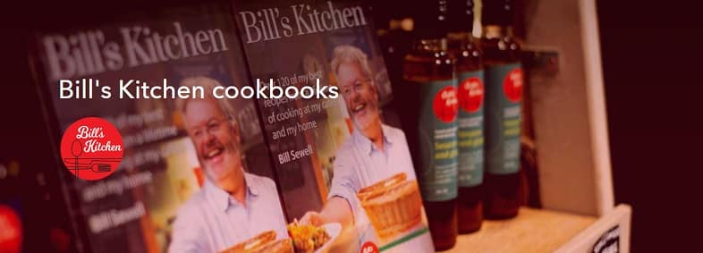 Bill's Kitchen Cookbooks