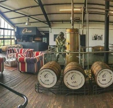Chase Distillery Tour