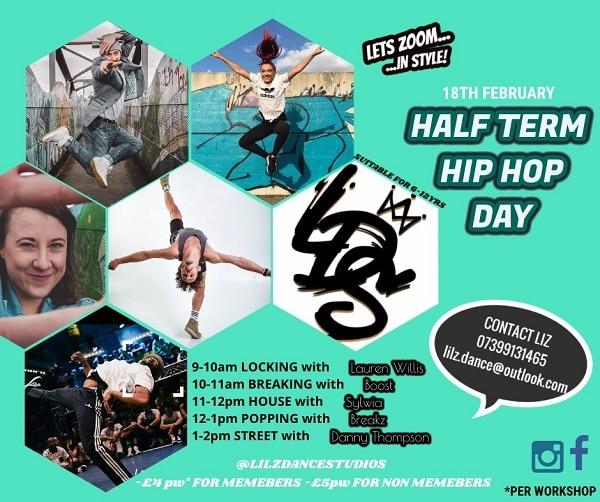 Junior Hip Hop Workshop