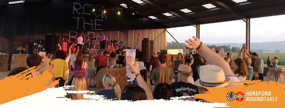 Rock The Barn Advert 2021
