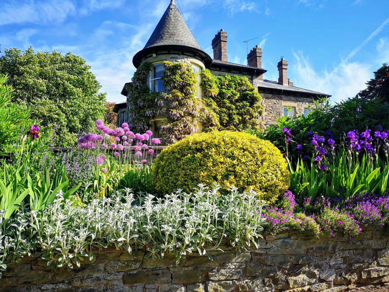 Brobury House Garden11