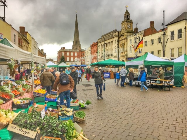 High Town Market day HEREFORD
