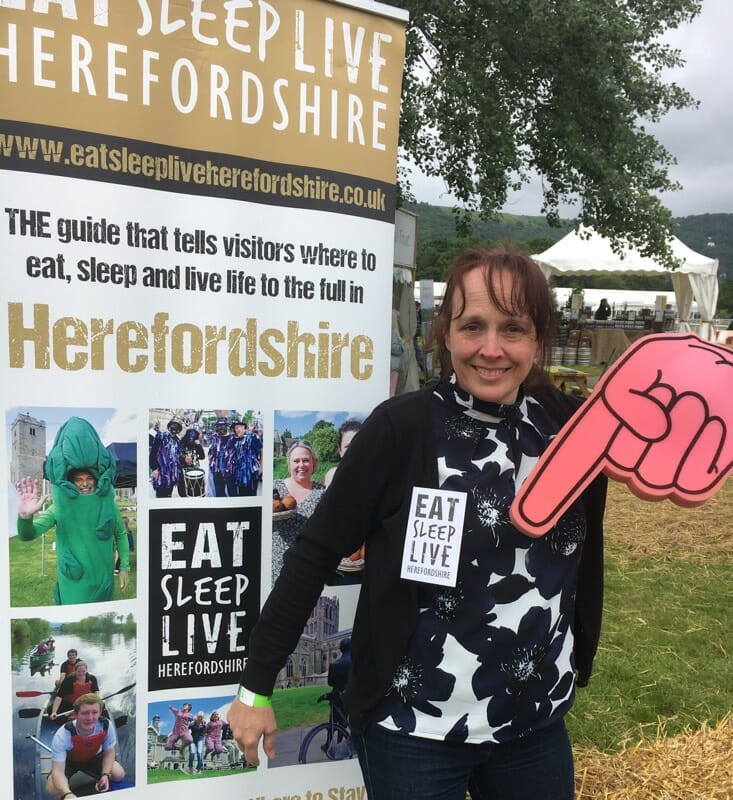 About Eat Sleep Live Herefordshire - Kerry Gibson-Yates