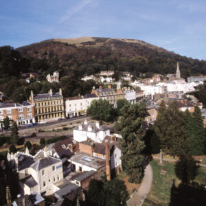Malvern Belle Vue Terrace from Priory Tower