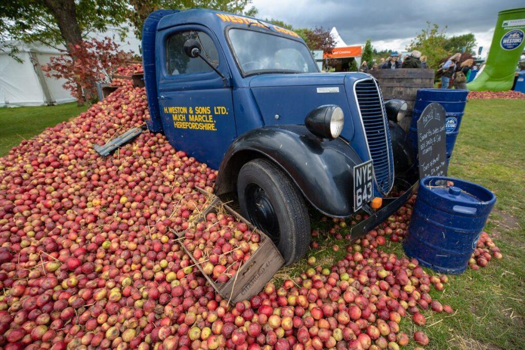 Westons Sponsor Biggest Harvest Show
