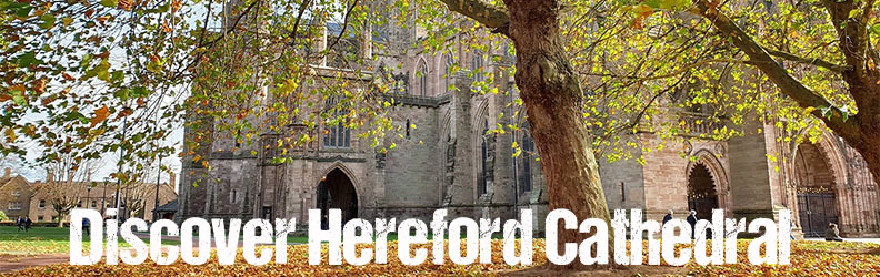 Discvover Hereford Cathedral ad quarter