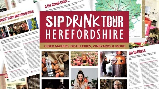 Sip Drink Tour Herefordshire Booklet