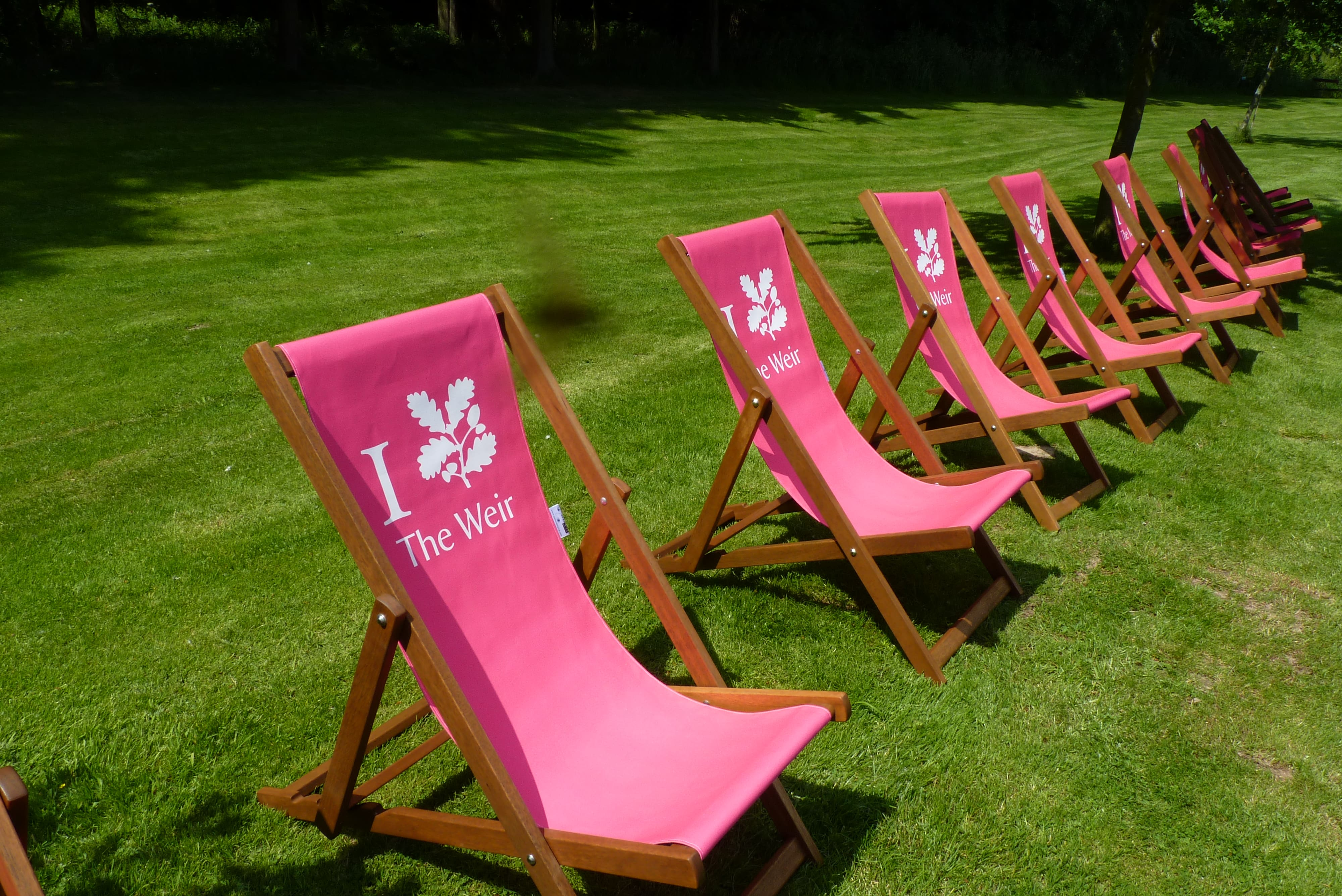 The Weir Garden Deckchairs
