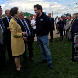 Princess Anne talking to Manning from Shack Revolution