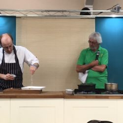Cookery demonstration at Royal Three Counties Show 2016