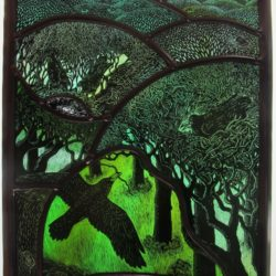 HAY Limited Edition Print of a stained glass panel by Tamsin Abbott