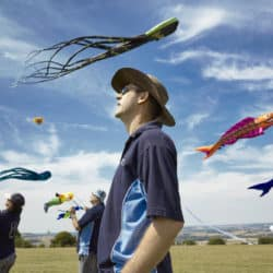 Fly a kite at Berrington Hall