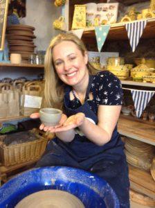 Freewheeling at Eastnor Pottery